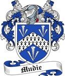 Mudie Family Crest, Coat of Arms