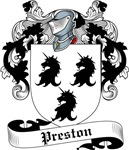 Preston Family Crest, Coat of Arms