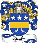 Boutin Family Crest, Coat of Arms