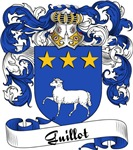 Guillot Family Crest, Coat of Arms