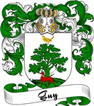 Guy Family Crest, Coat of Arms
