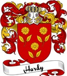 Hardy Family Crest, Coat of Arms