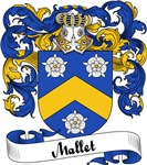 Mallet Family Crest, Coat of Arms