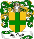 St. Croix Family Crest, Coat of Arms