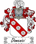 Domenici Family Crest, Coat of Arms