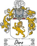 Doro Family Crest, Coat of Arms