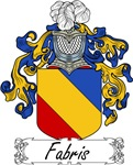 Fabris Family Crest, Coat of Arms