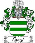Fiorani Family Crest, Coat of Arms