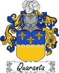 Quaranta Family Crest, Coat of Arms