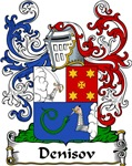 Denisov Family Crest, Coat of Arms