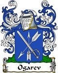 Ogarev Family Crest, Coat of Arms
