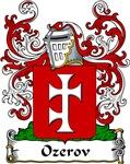 Ozerov Family Crest, Coat of Arms