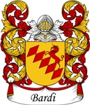 Bardi Family Crest, Coat of Arms