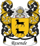 Resende Family Crest, Coat of Arms