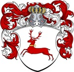 Hardt Family Crest, Coat of Arms