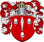 Hoos Family Crest, Coat of Arms