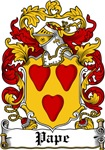 Pape Coat of Arms, Family Crest