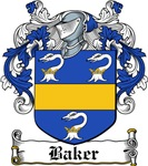 Baker Coat of Arms, Family Crest
