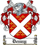 Denny Coat of Arms, Family Crest