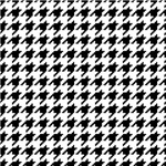 8 Bit Pixel Houndstooth Check Pattern