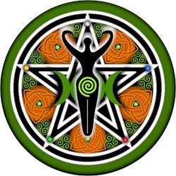 Green Goddess Pentacle