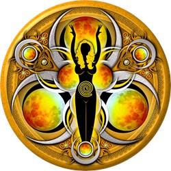 Goddess of the Yellow Moon