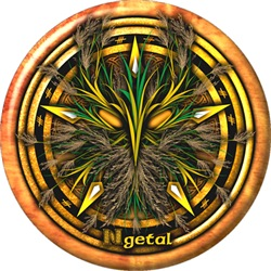 Reed Celtic Greenman Pentacle
