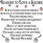 Reasons to love a Soldier