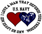 US Navy - I love a man that defends your freedom
