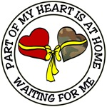 Part of my Heart is at Home waiting for Me