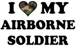 I heart ( love ) my Airborne Soldier