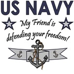 US Navy - My Friend is defending your freedom!