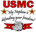 USMC My Nephew is defending your freedom!