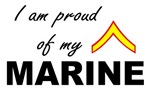 Proud of my Marine - Private First Class E2