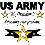 ARMY My Grandson is defending your freedom