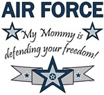 My Mommy is defending your freedom!