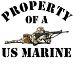 Property of a US Marine