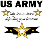 My Son-in-law is defending your freedom!
