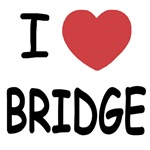 I heart bridge