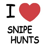 I heart snipe hunts