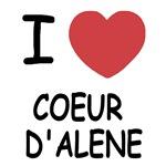 I heart coeur d'alene