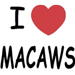 I heart macaws
