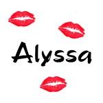 alyssa kisses