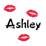 Ashley kisses