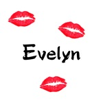 Evelyn kisses