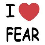 I heart fear