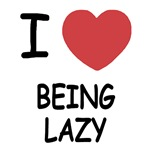 I heart being lazy