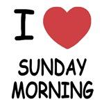 I heart sunday morning