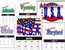 USA Calendars