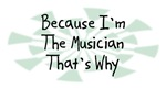 Because I'm The Musician